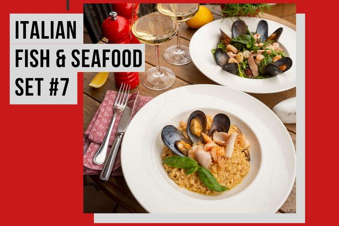 ITALIAN FISH&SEAFOOD SET