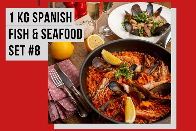 1 KG SPANISH FISH & SEAFOOD SET